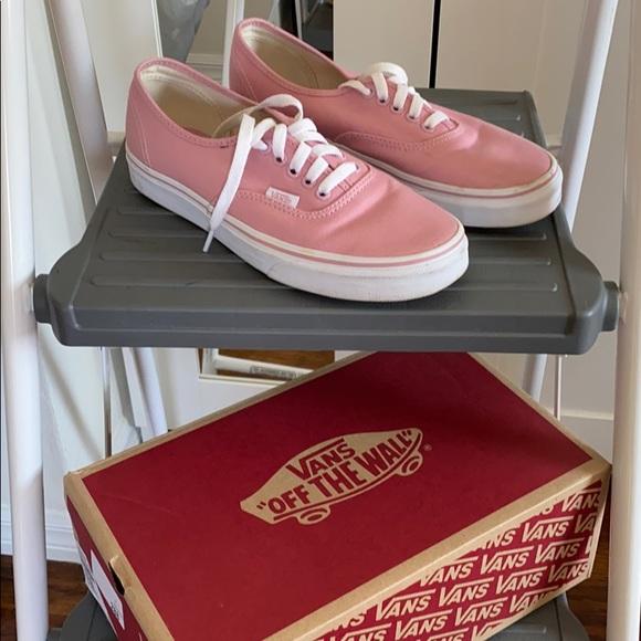 Vans Shoes | Pink Vans Size 8 | Poshmark